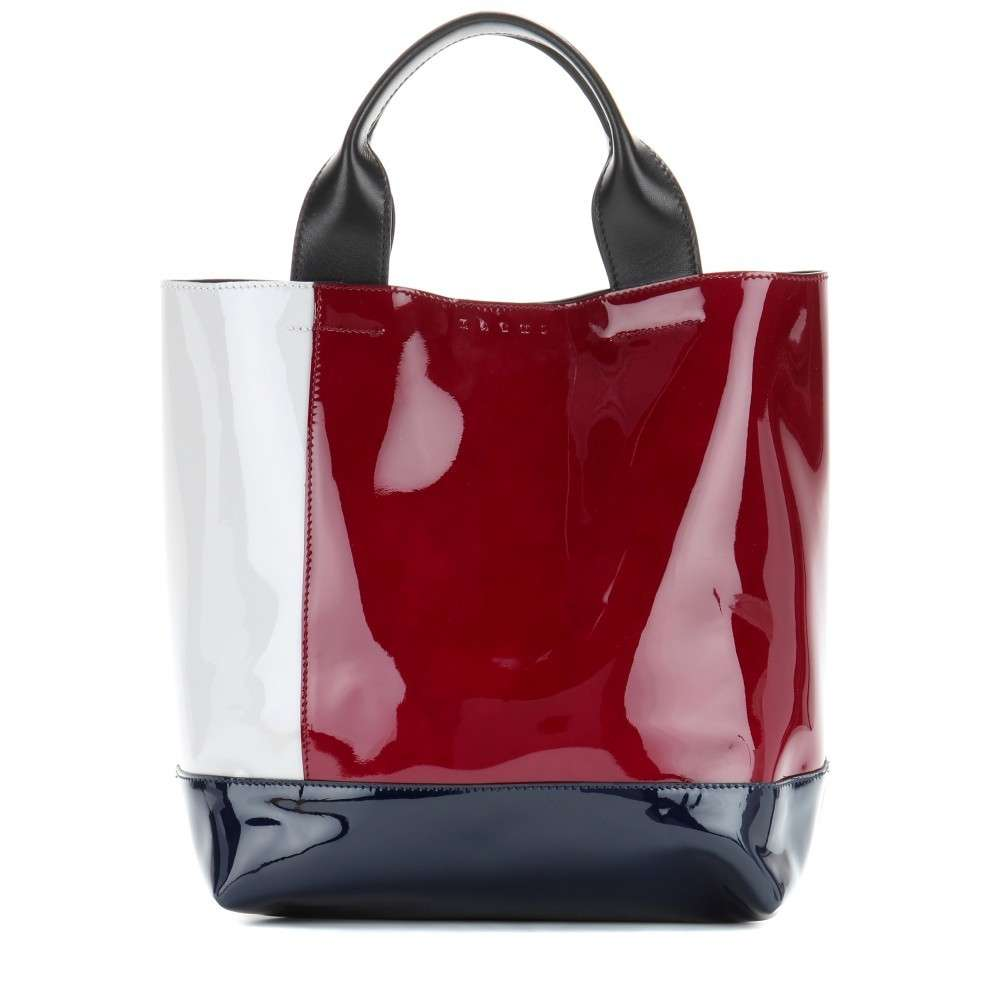Shopper in vernice Marni