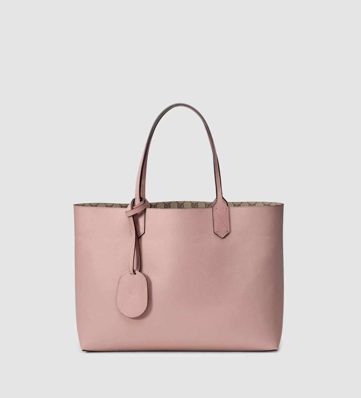 Shopper reversibile rosa