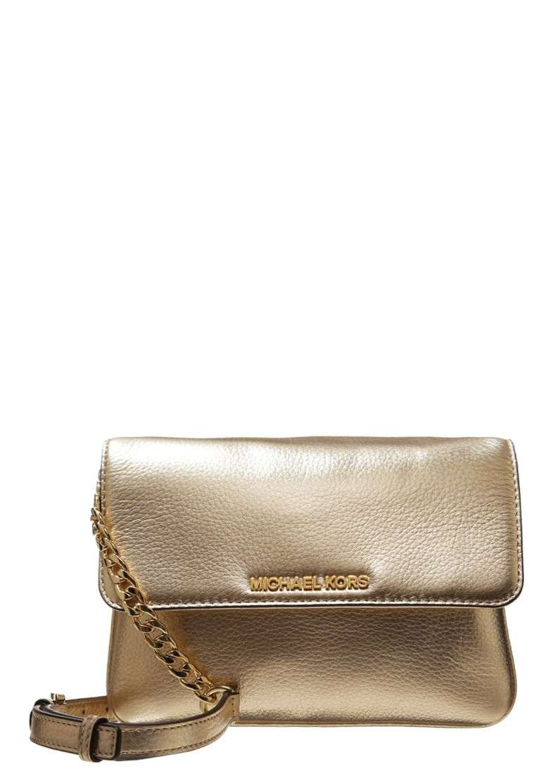 Mini bag oro Michael Kors