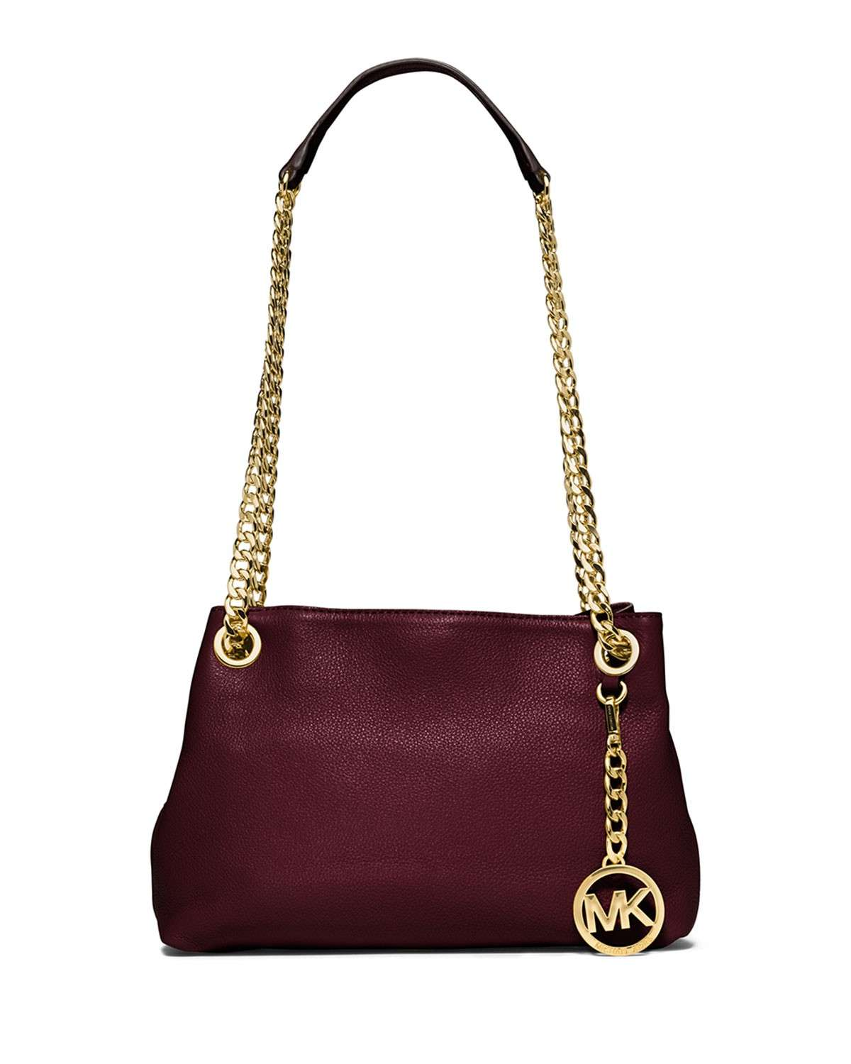 Shoulder bag vinaccia con catena Michael Kors