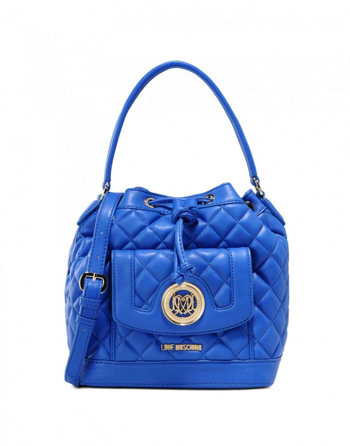 Secchiello blu Love Moschino