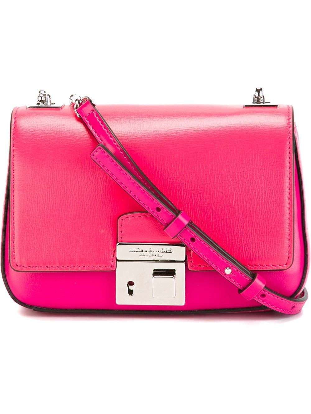 Mini bag a tracolla fucsia