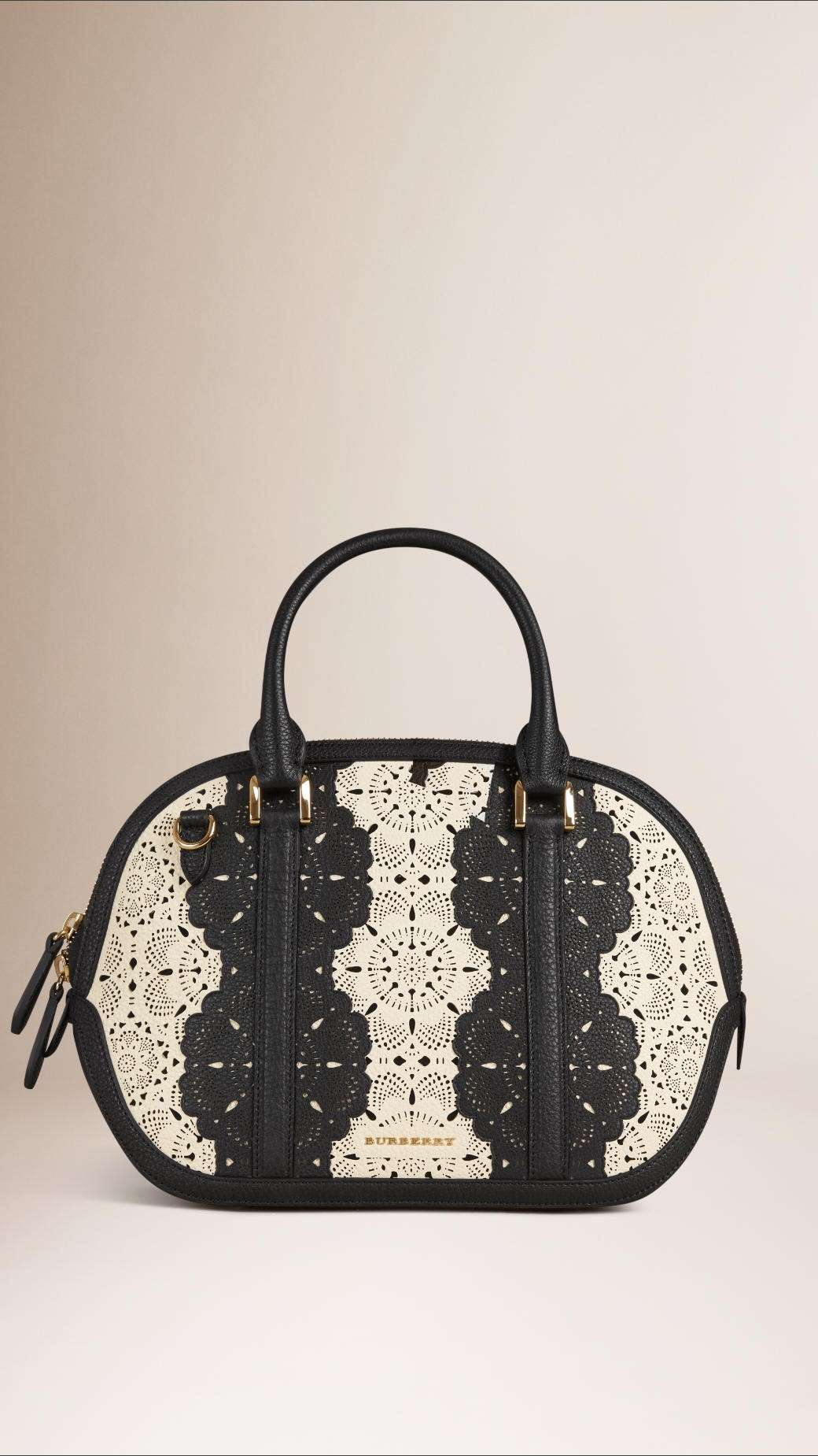 Handbag The Orchard effetto pizzo