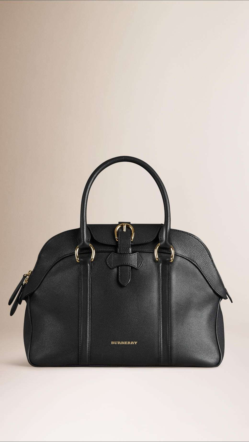 Handbag nera Burberry