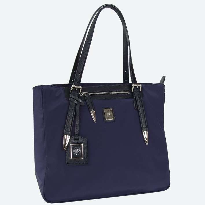 Shopper blu scuro