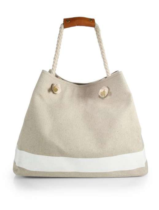 Borsa mare in canvas Heidi Klein