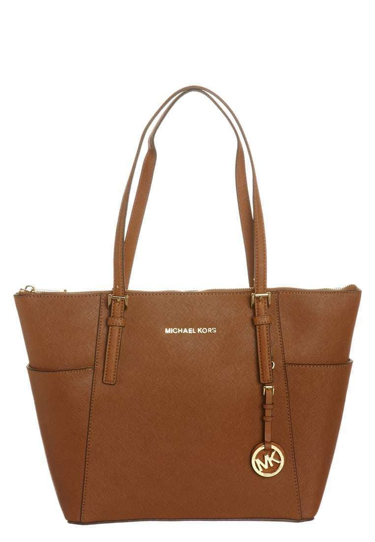 Handbag marrone in pelle