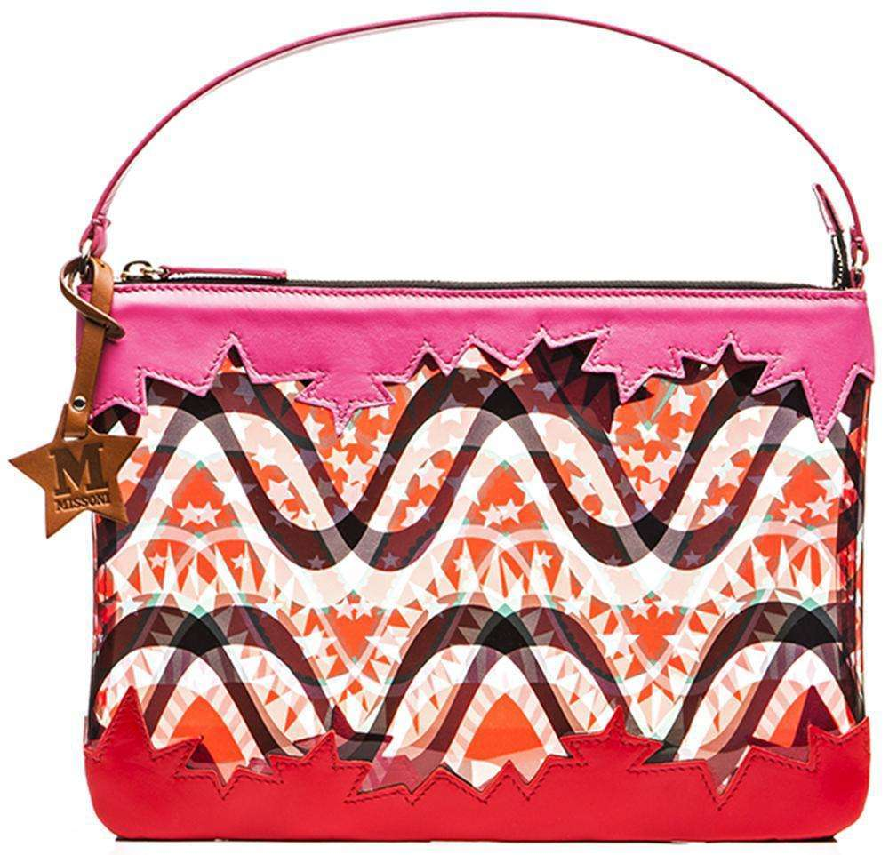 Handbag colorata M Missoni