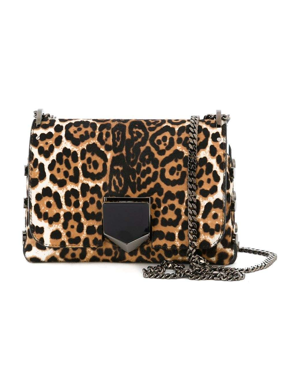 Shoulder bag animalier Jimmy Choo