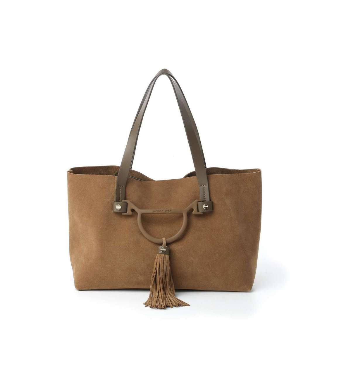 Shopper Metropolitan medium Borbonese marrone