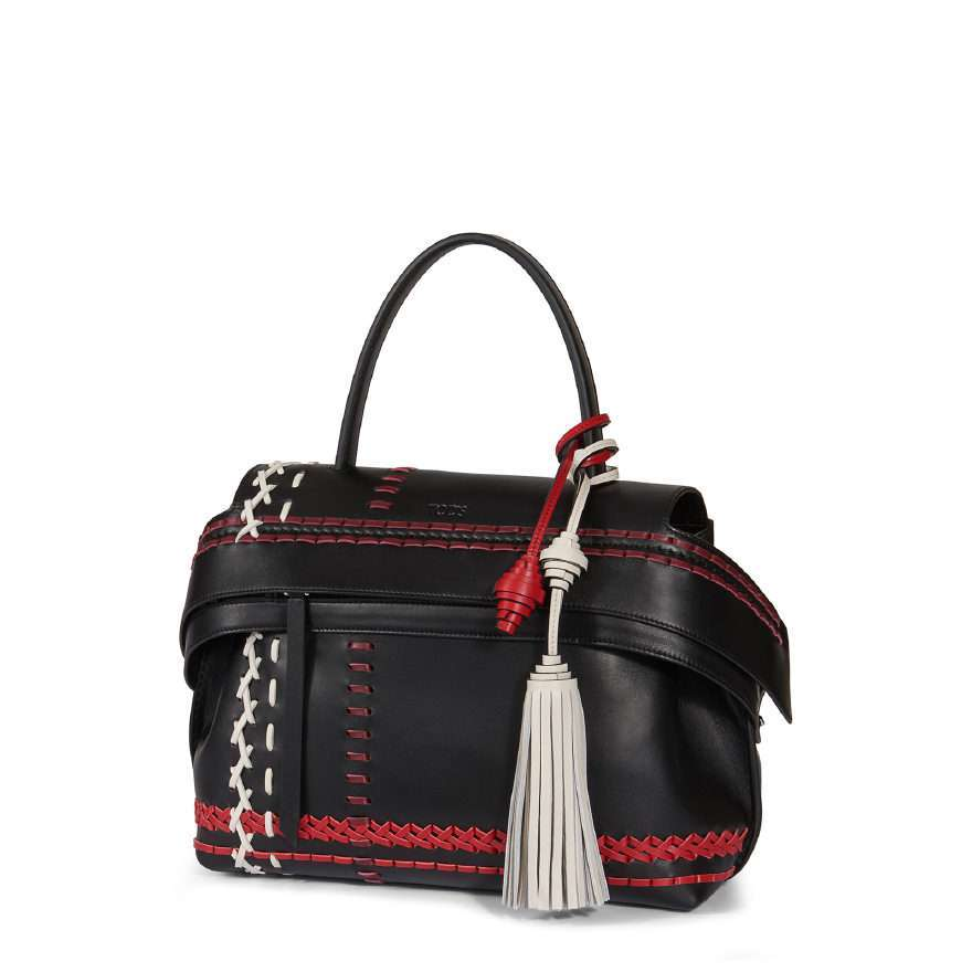 Mini handbag decorata Tod's