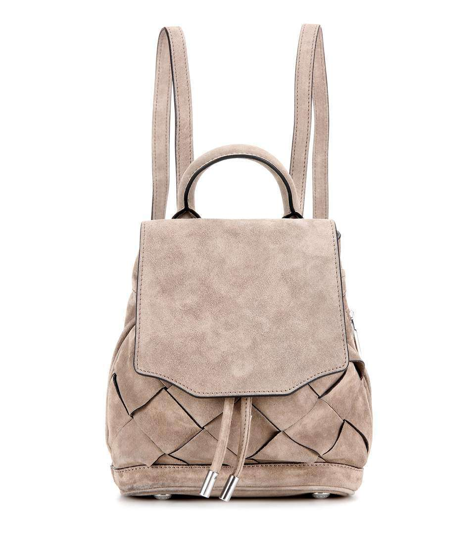 Zaino taupe in suede Rag and Bone