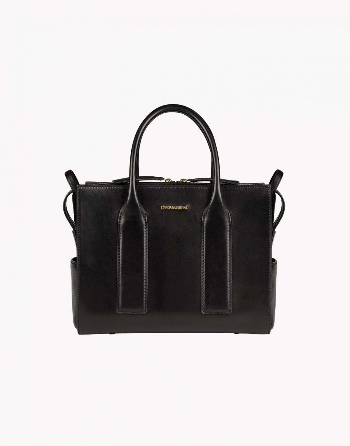 Handbag nera in pelle DSquared2