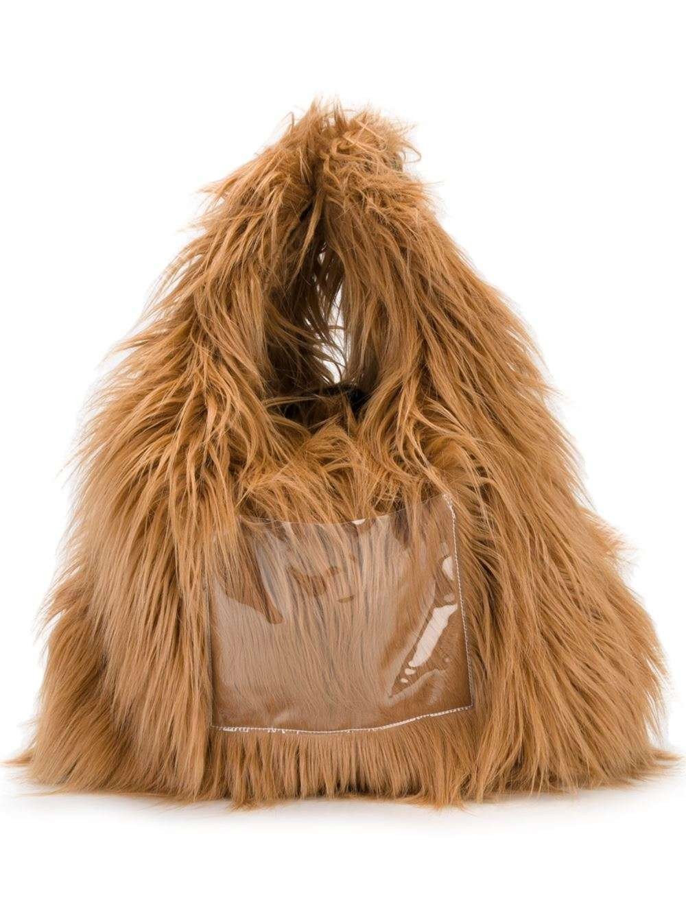 Hobo bag in pelliccia Maison Margiela