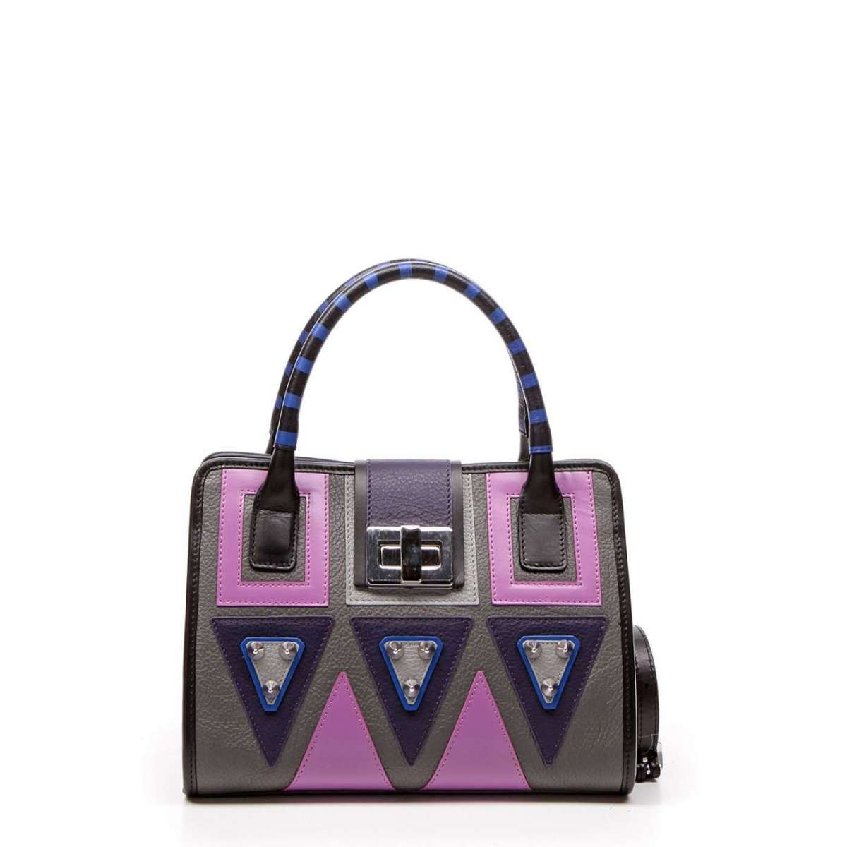 Handbag in color block Braccialini