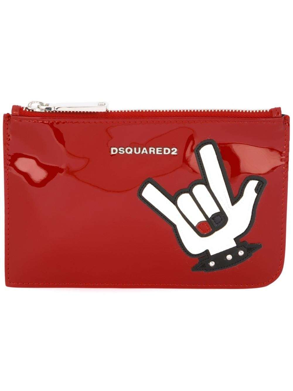 Beauty case vernice DSquared2