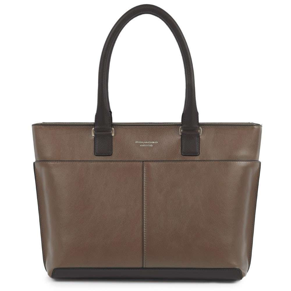 Shopper marrone Piquadro