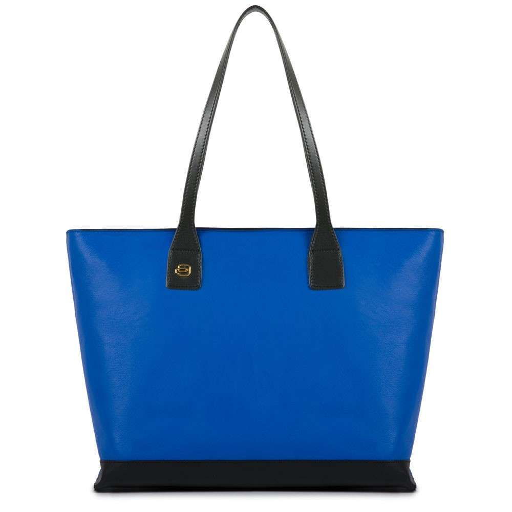 Shopper blu e nera