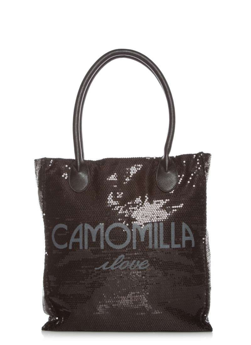 Shopper con paillettes Camomilla