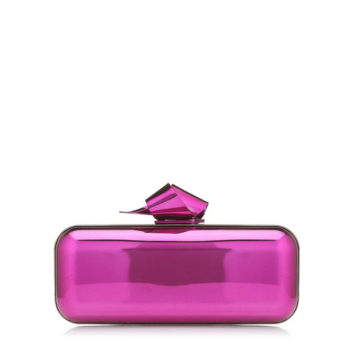 Clutch fucsia Jimmy Choo