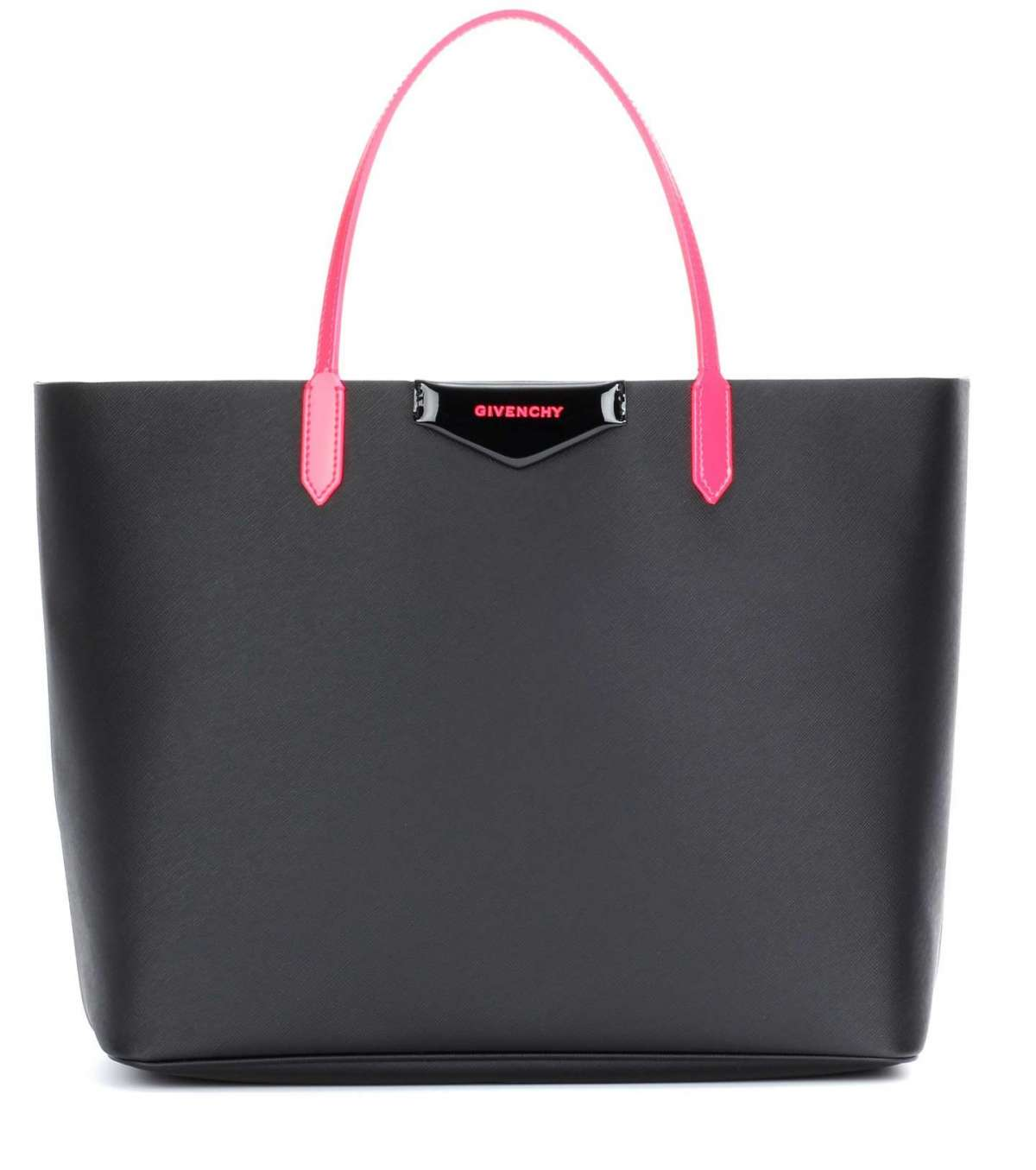 Shopper nera manici rosa Givenchy