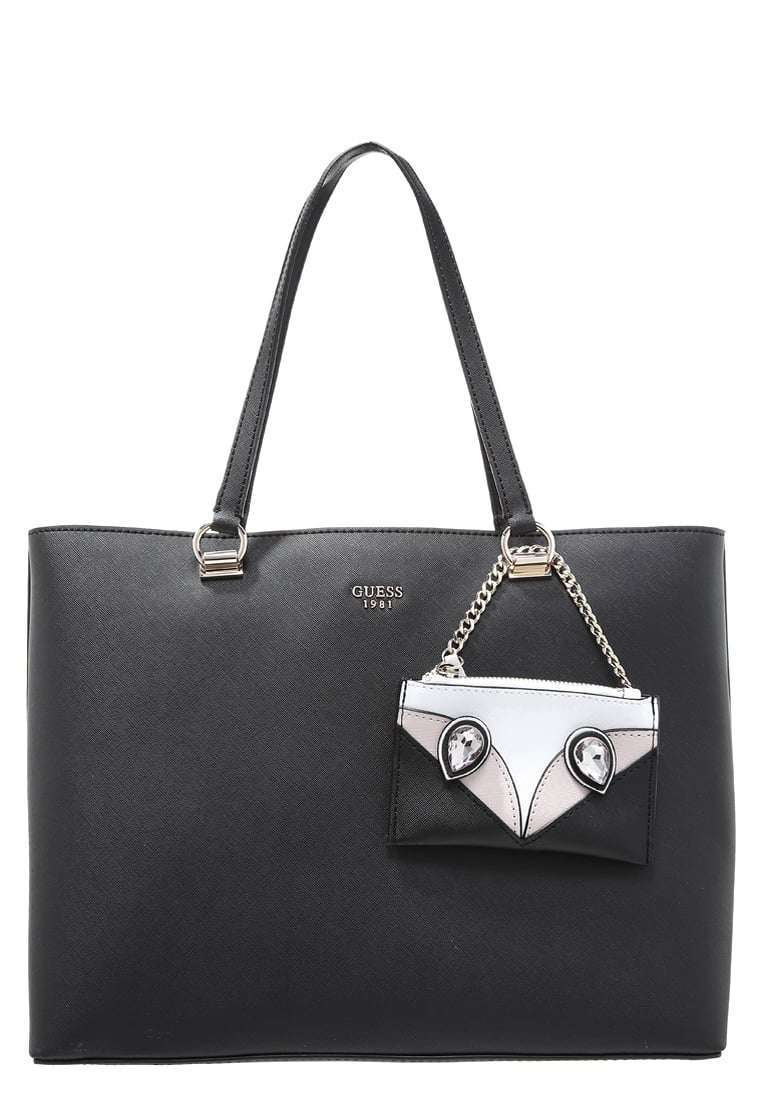 Shopping bag nera Guess