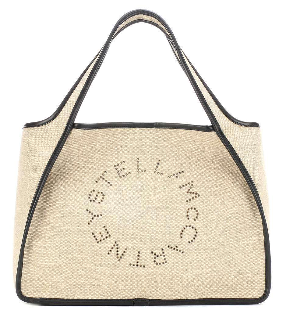 Borsa mare in lino Stella McCartney