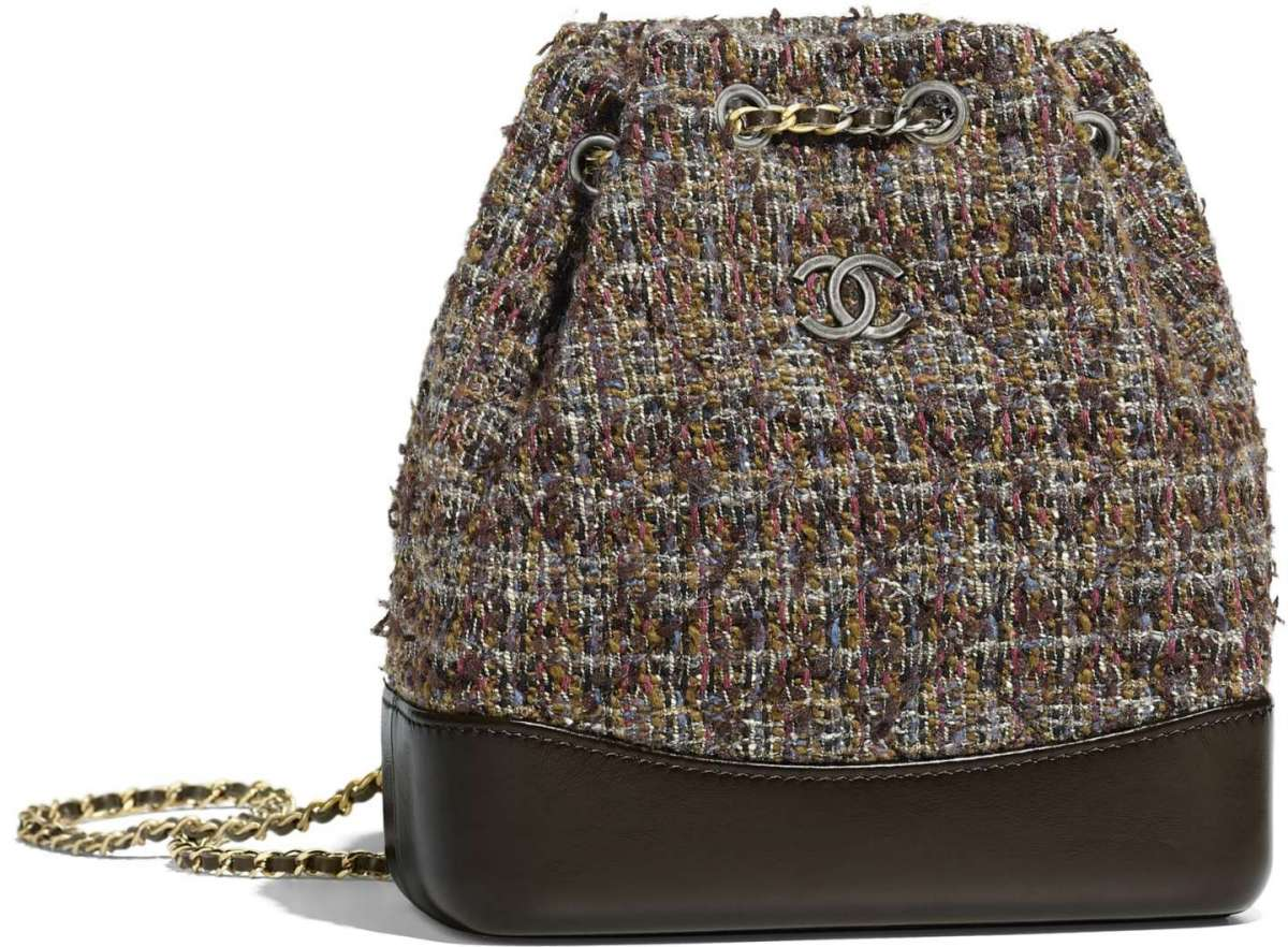 Borsa a secchiello Chanel in tweed a 2980 euro
