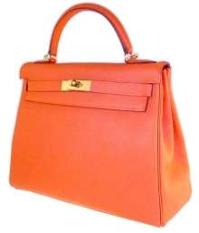 Kelly in vitello arancio