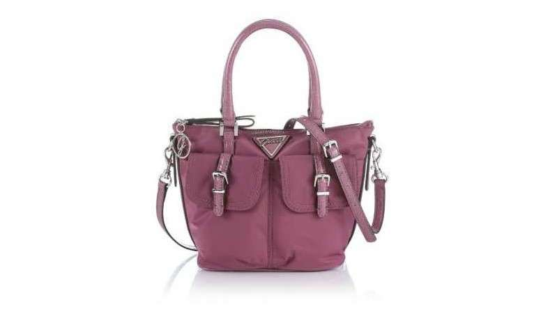 Guess tote in pelle fucsia