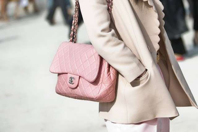 Chanel 2.55 rosa baby