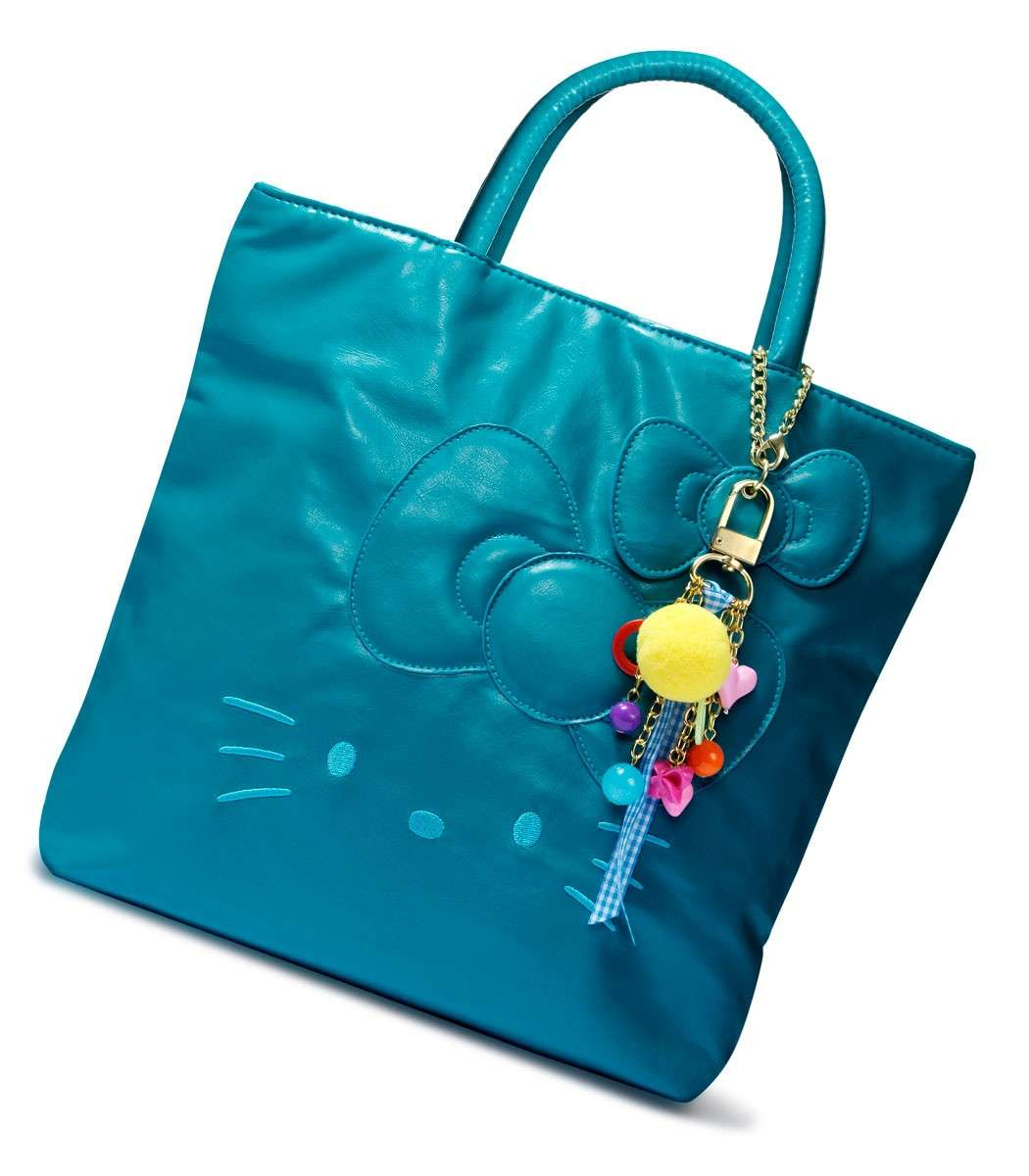 Shopper Hello Kitty azzurra