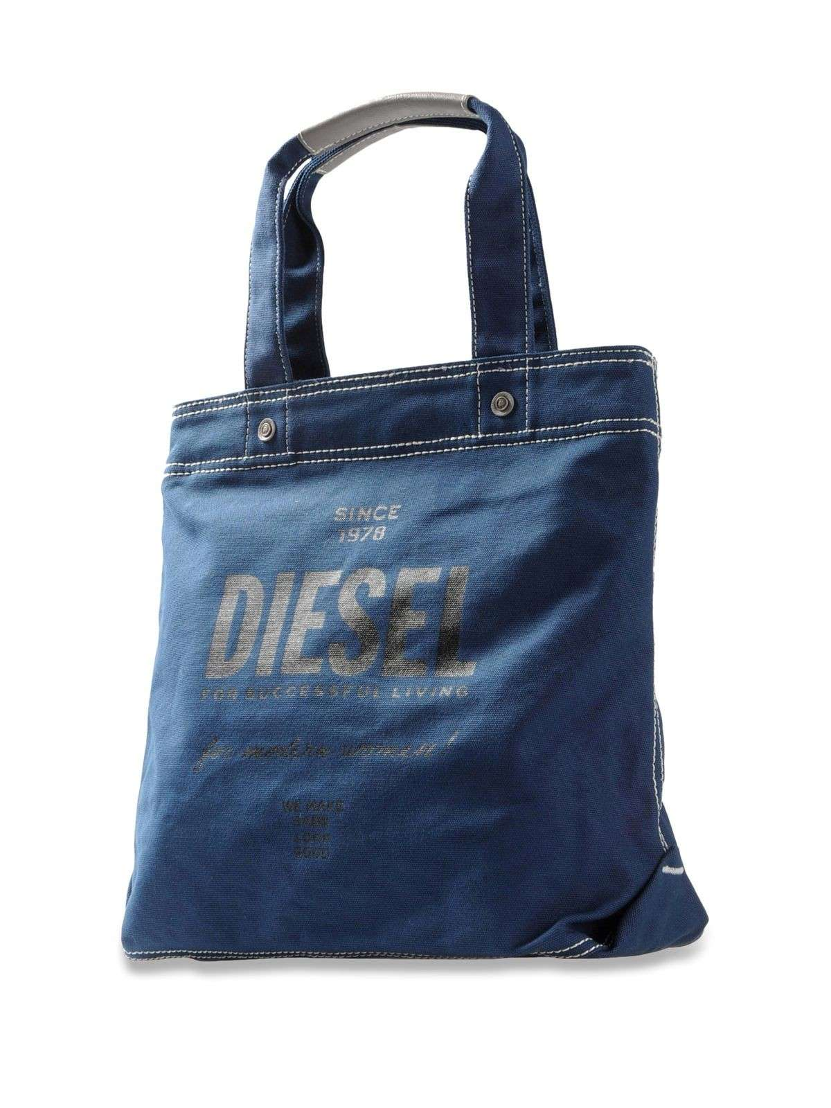 Shopping bag in denim Diesel