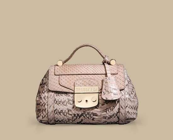 Handbag Mini Lucinda Trussardi in pitone
