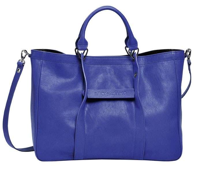 Shopper Longchamp blu