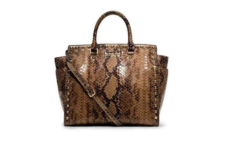 Handbag Michael Kors in rettile