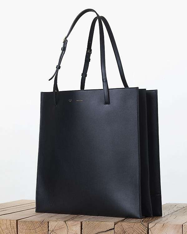 Shopper Celine in pelle nera