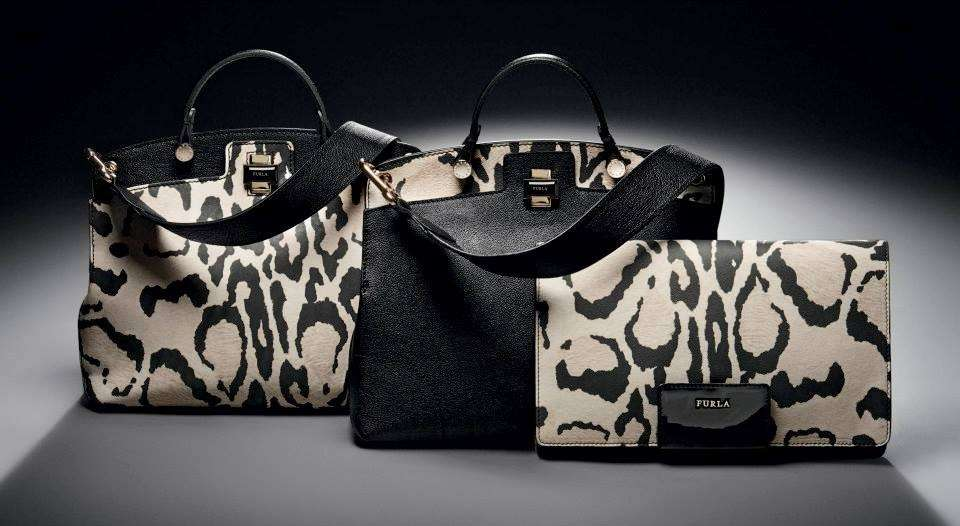 Handbag e clutch animalier Furla