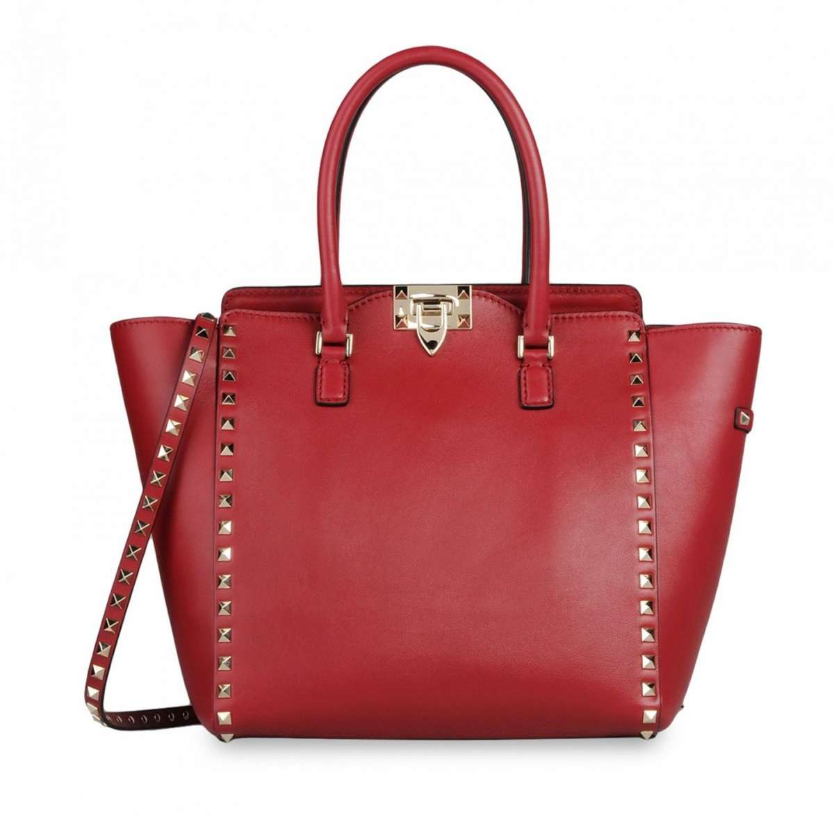 Handbag media rossa