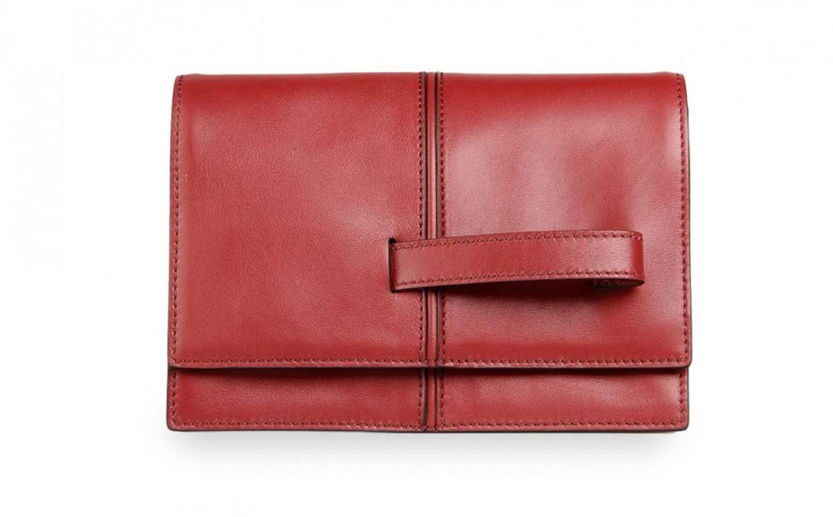 Clutch rossa Valetino
