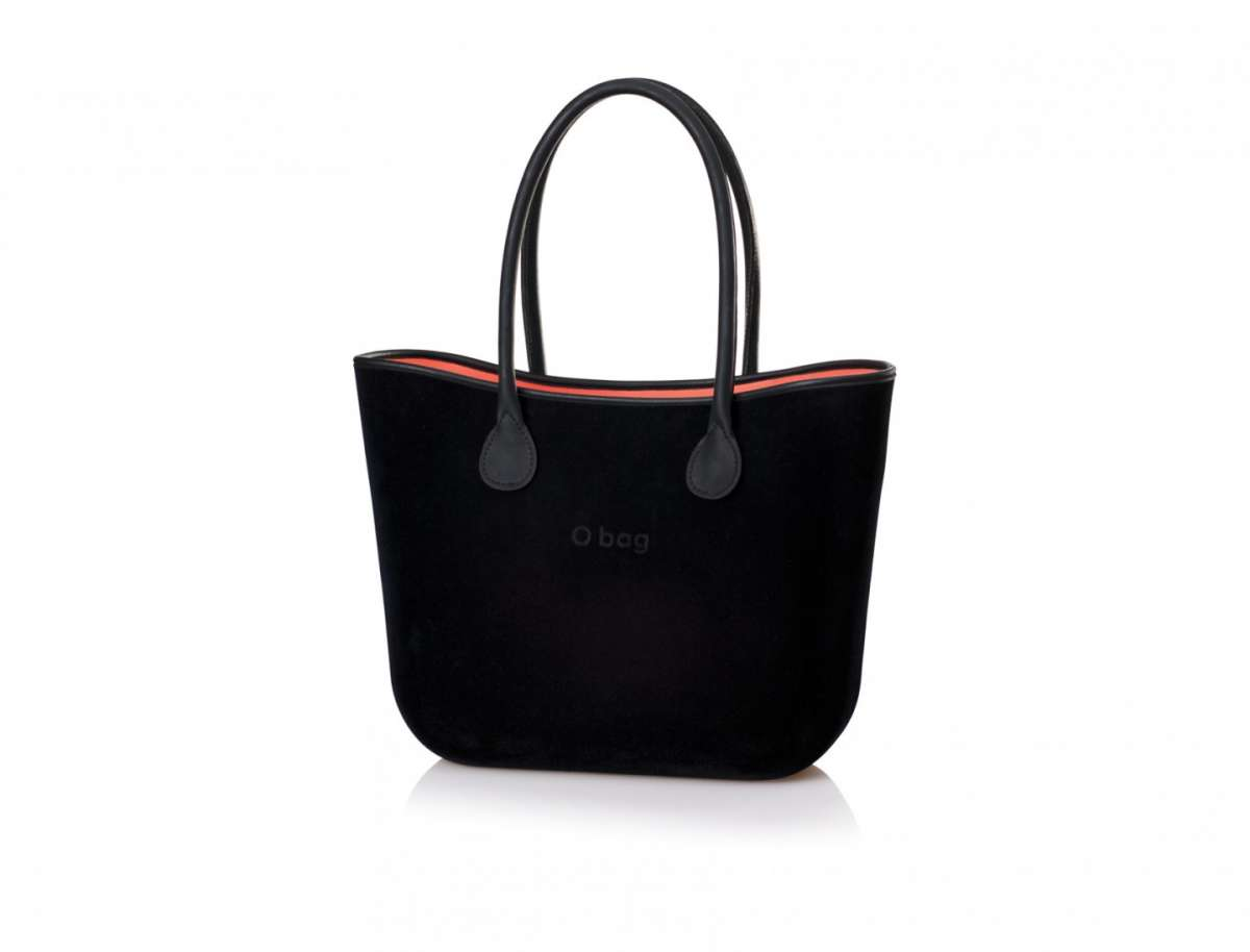 Handbag nera O Bag by Fullspot