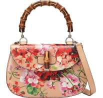 Bamboo Classic Blooms Top Handle Gucci