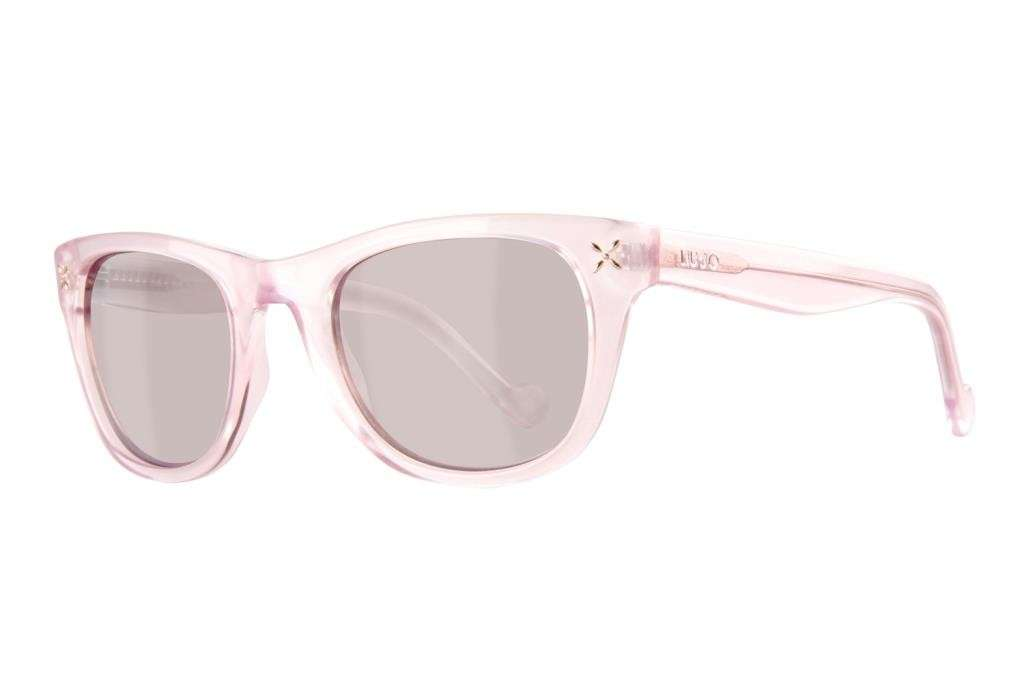 Sunglasses pink crystal
