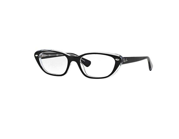 Occhiali cat eye neri Ray-Ban