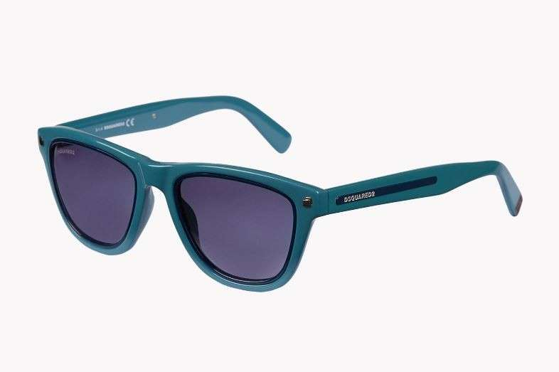 Sunglasses verde petrolio Dsquared2