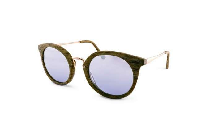 George sunglasses wood