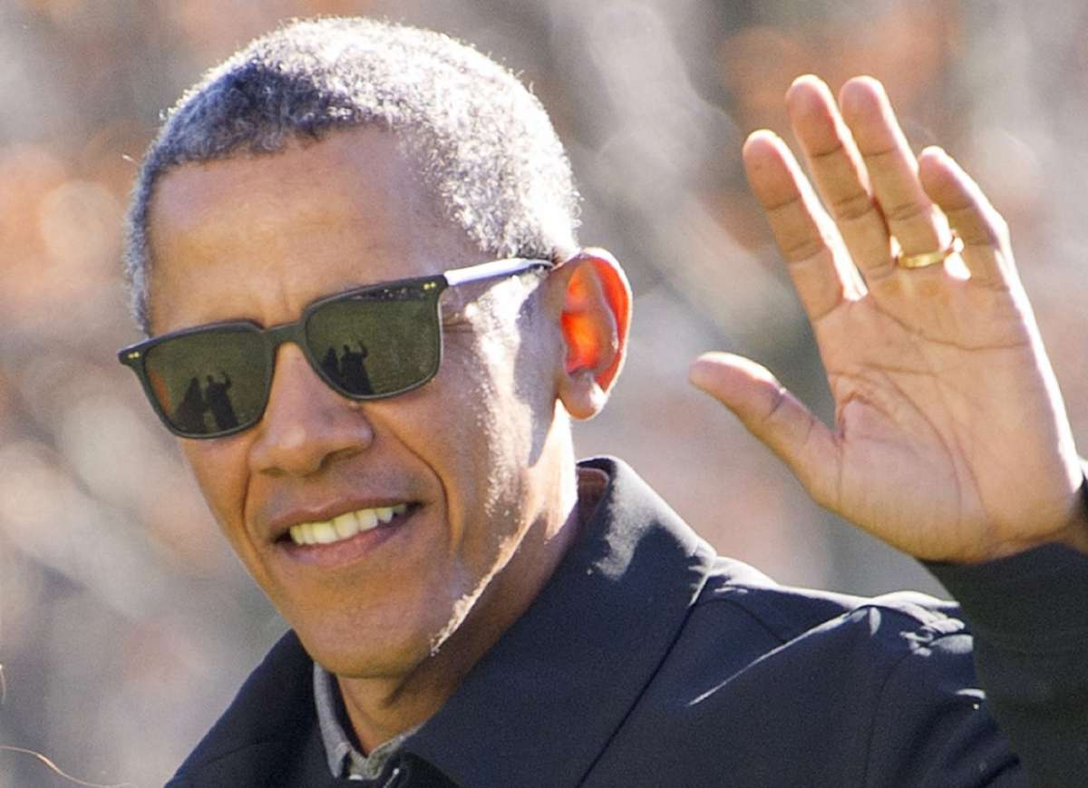 Barack Obama in Oliver Peoples