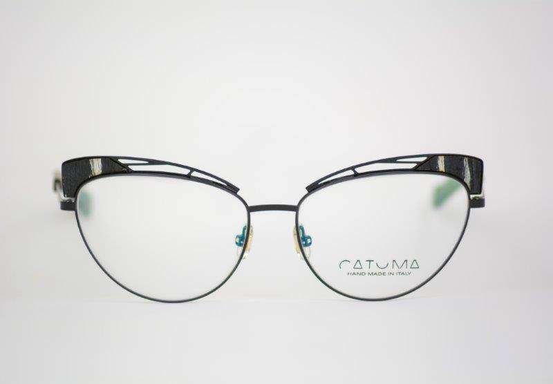 Occhiali neri cat-eye Catuma