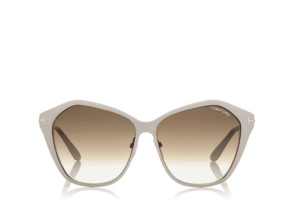 Sunglasses grigi geometrici Tom Ford