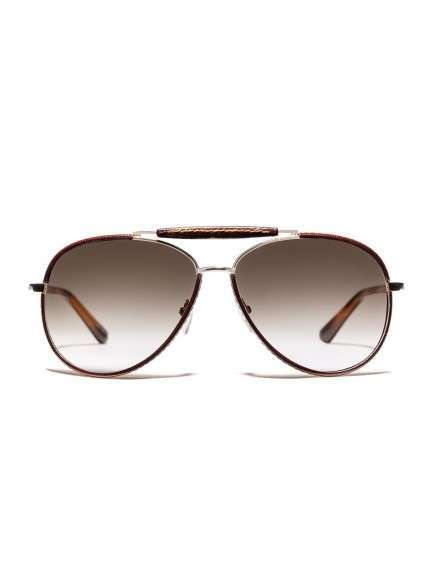Aviator sunglasses marroni